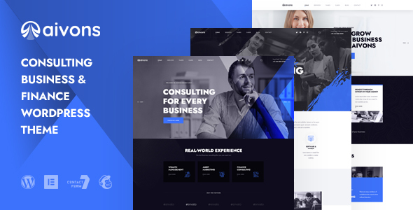 [Free Download] Aivons – Business Consulting WordPress Theme (Nulled) [Latest Version]