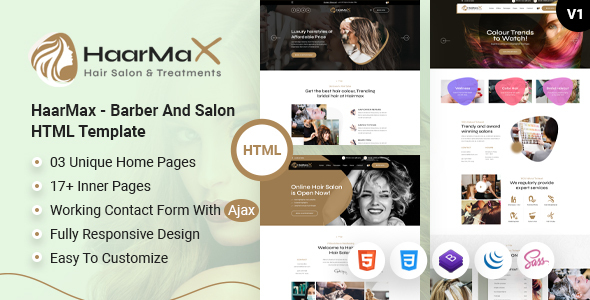 [Free Download] HaarMax – Barber And Salon HTML Template (Nulled) [Latest Version]