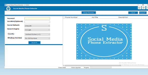 [Free Download] All Social Media Phone Number Extractor (Nulled) [Latest Version]