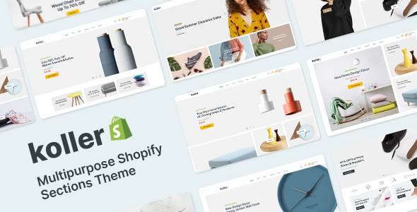 [Free Download] Koller – Multipurpose Shopify Sections Shopiy Theme (Nulled) [Latest Version]