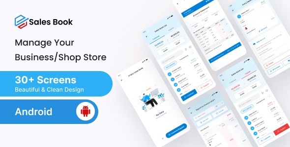 [Free Download] Salesbook – Mobile POS Inventory Android Ui Kit (Nulled) [Latest Version]