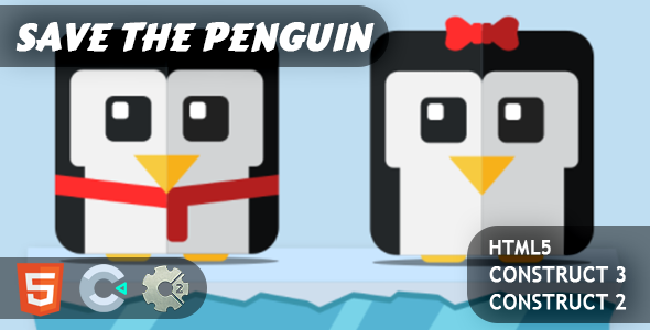 [Free Download] Save The Penguin HTML5 Construct 2/3 Game (Nulled) [Latest Version]