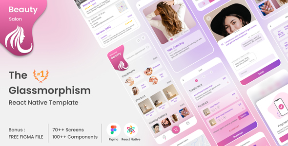 [Free Download] Beauty Salon Member Booking and Shopping React Native Mobile Template (Nulled) [Latest Version]