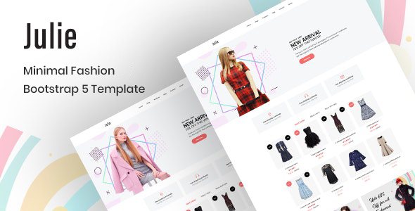 [Free Download] Julie – Minimal Fashion Bootstrap 5 Template (Nulled) [Latest Version]