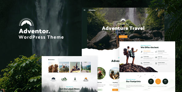 [Free Download] Adventor – Travel and Adventure WordPress Theme (Nulled) [Latest Version]