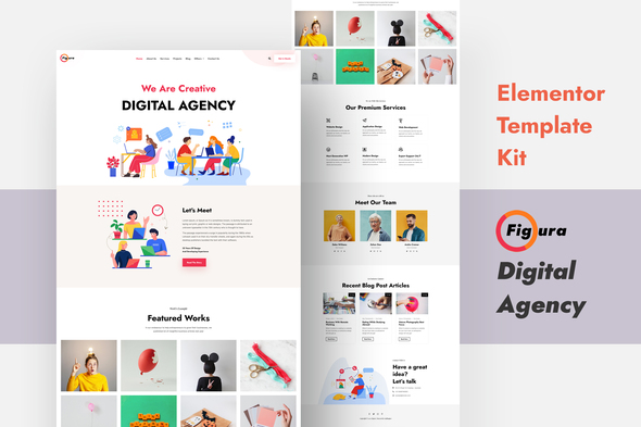 [Free Download] Figura – Creative Agency Elementor Template Kit (Nulled) [Latest Version]