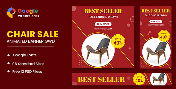 [Free Download] Chair Google Adwords HTML5 Banner Ads GWD (Nulled) [Latest Version]