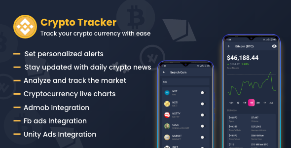 [Free Download] Crypto Currency Tracker : Market analysis tool (Nulled) [Latest Version]
