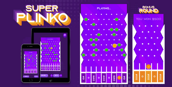 [Free Download] Super Plinko – HTML5 Game (Nulled) [Latest Version]