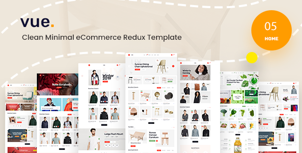 [Free Download] Vue – Clean Minimal eCommerce React Redux Template (Nulled) [Latest Version]