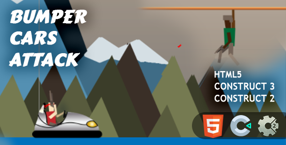 [Free Download] Bumper Cars Attack HTML5 Construct 2/3 (Nulled) [Latest Version]