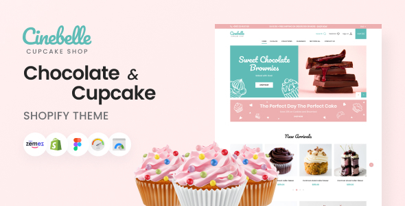 [Free Download] Cinebelle – Chocolate & Cupcake Shopify Theme (Nulled) [Latest Version]