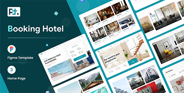 [Free Download] FT – Booking Hotel Figma Template (Nulled) [Latest Version]