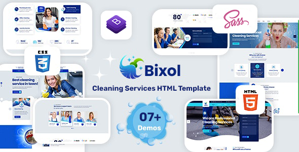 [Free Download] Bixol – Cleaning Services HTML Template (Nulled) [Latest Version]
