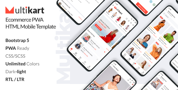 [Free Download] Multikart – Ecommerce PWA Mobile HTML Template (Nulled) [Latest Version]