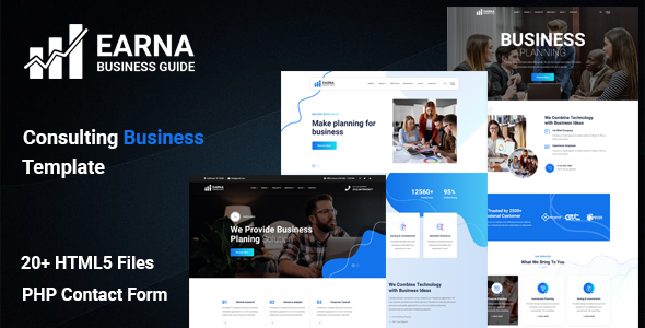 [Free Download] Earna – Consulting Business Template (Nulled) [Latest Version]