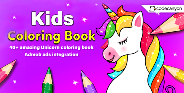 [Free Download] Android Kids Coloring Book – Coloring Book for Girls & Boys (Android 11) (Nulled) [Latest Version]