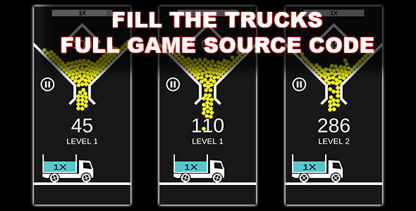 [Free Download] Fill The Trucks (Unity Source Code) – 100 Balls – Endless Hypercasual Game (Nulled) [Latest Version]