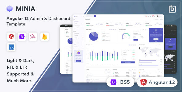 [Free Download] Minia – Angular 12 Admin Dashboard Template (Nulled) [Latest Version]