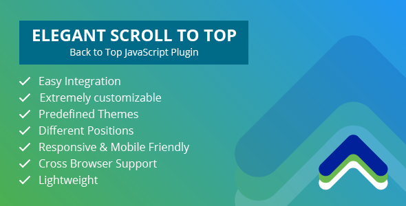 [Free Download] Elegant Scroll to Top – Back to Top JavaScript Plugin (Nulled) [Latest Version]