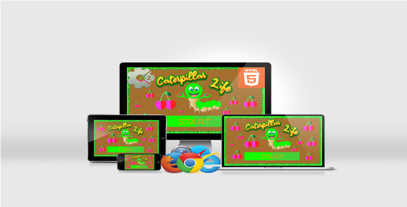 [Free Download] Caterpillar Life – HTML5 Educational Game (Nulled) [Latest Version]