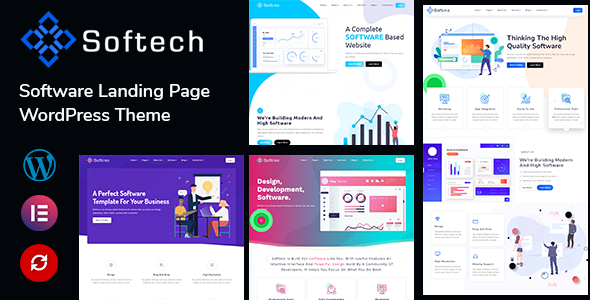 [Free Download] Softech – Software & Landing Page WordPress Theme (Nulled) [Latest Version]
