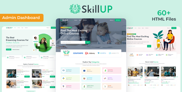 [Free Download] SkillUp | Online Education HTML Template (Nulled) [Latest Version]