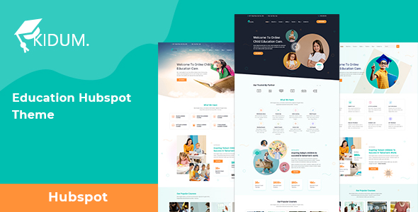 [Free Download] Kidum | LMS & Education Hubspot Theme (Nulled) [Latest Version]