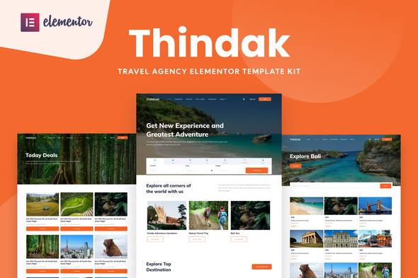[Free Download] Thindak – Travel Agency Elementor Template Kit (Nulled) [Latest Version]