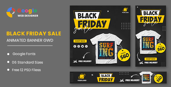 [Free Download] Black Friday HTML5 Banner Ads GWD (Nulled) [Latest Version]