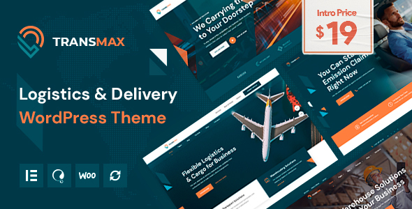 [Free Download] Transmax – Logistics & Delivery Company WordPress Theme (Nulled) [Latest Version]