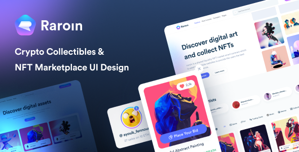 [Free Download] Raroin – NFT Marketplace (Nulled) [Latest Version]