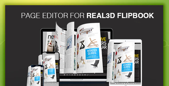 [Free Download] Page Editor for Real3D Flipbook (Nulled) [Latest Version]