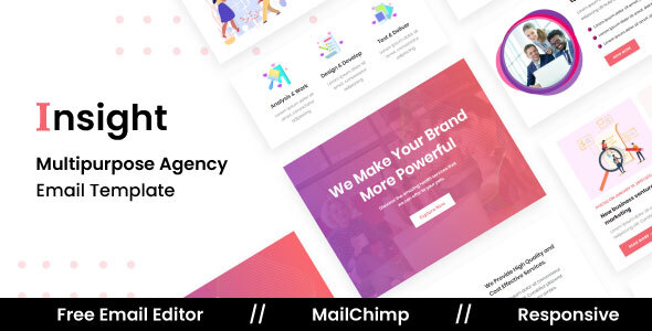 [Free Download] Insight Agency – Multipurpose Responsive Email Template (Nulled) [Latest Version]