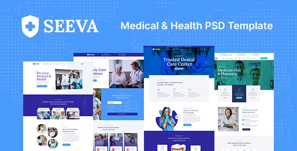 [Free Download] Seeva – Medical and Dental PSD Template (Nulled) [Latest Version]