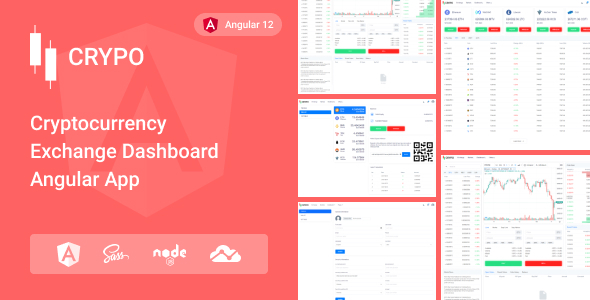 [Free Download] Crypo – Cryptocurrency Trading Dashboard Angular App (Nulled) [Latest Version]