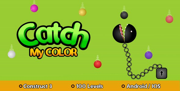 [Free Download] Catch My Color – HTML5 Game (Construct 3) (Nulled) [Latest Version]
