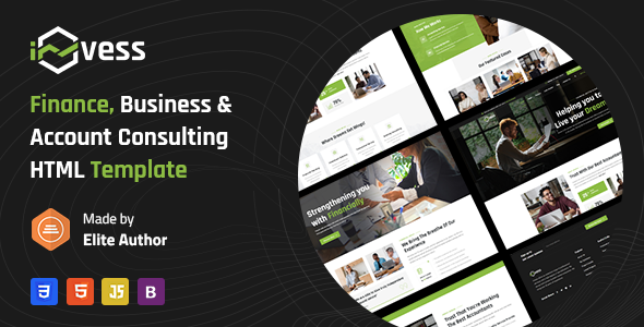 [Free Download] Invess – Accounting & Finance Services HTML Template (Nulled) [Latest Version]