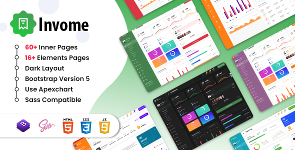 [Free Download] Invome –  Admin Dashboard Bootstrap 5 Template (Nulled) [Latest Version]