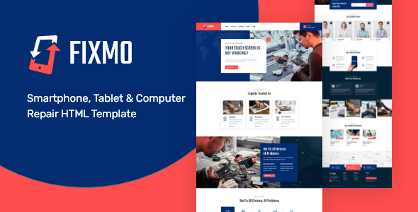 [Free Download] Fixmo – Smartphone Repair Services HTML Template (Nulled) [Latest Version]