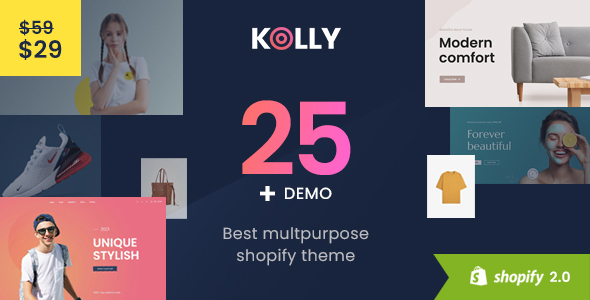[Free Download] Kolly- Best Multipurpose Shopify Theme (Nulled) [Latest Version]