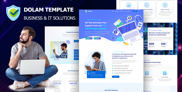 [Free Download] Dolam – Business & IT Solutions Company (Nulled) [Latest Version]
