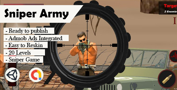 [Free Download] Sniper Army 3D (Unity – Admob) (Nulled) [Latest Version]