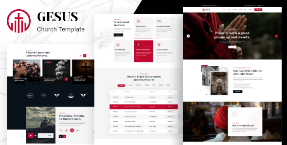 [Free Download] Gesus – Church Religious XD Template (Nulled) [Latest Version]