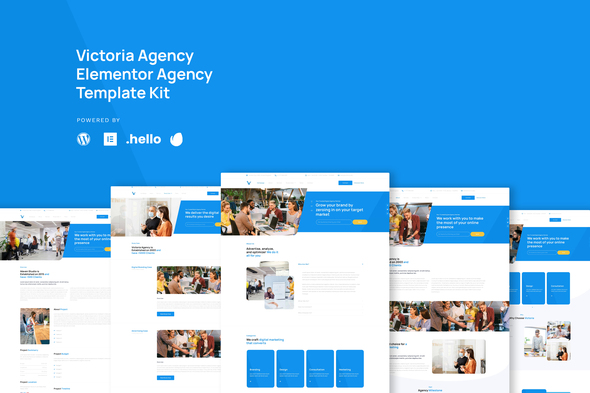 [Free Download] Victoria – Agency & Business  Elementor Template Kit (Nulled) [Latest Version]