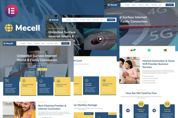 [Free Download] Mecell – Internet Connection & Home Wifi Business Services Elementor Template Kit (Nulled) [Latest Version]