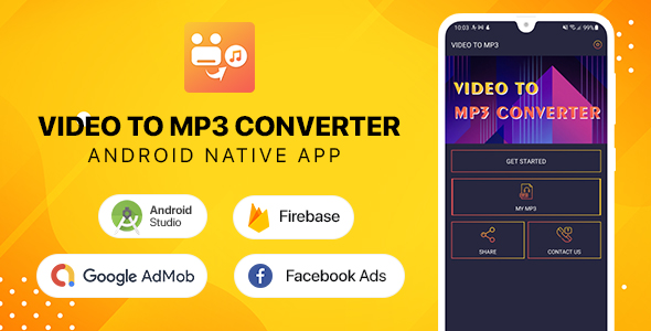 [Free Download] Video to mp3 Converter – Android (Nulled) [Latest Version]