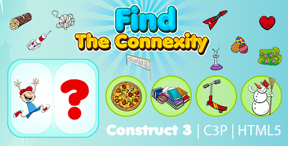 [Free Download] Find The Connexity Kids Learning Game (Construct 3 | C3P | HTML5) Educational Game (Nulled) [Latest Version]