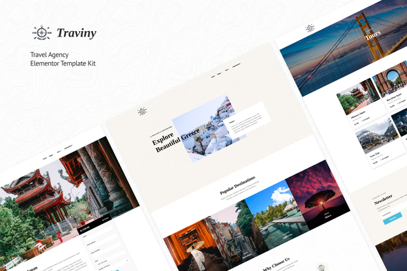 [Free Download] Traviny | Travel Agency Elementor Template Kit (Nulled) [Latest Version]