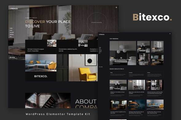 [Free Download] Bitexco – Creative Interior Elementor Template Kit (Nulled) [Latest Version]